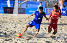 Lịch thi đấu ABG 5-2016 ngày 27/9: ĐT bóng đá bãi biển Việt Nam đụng độ Thái Lan