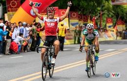 Chặng 2 Giải xe đạp Quốc tế VTV Cúp Tôn Hoa Sen 2016: Trương Nguyễn Thanh Nhân về nhất
