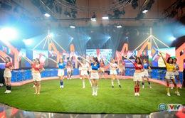 """Euro 2016 với VTV: Chờ đợi màn trình diễn sôi động trong lễ khai mạc của người đẹp """"Nóng cùng Euro"""""""