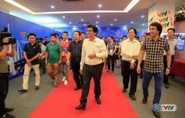 Tổng Giám đốc Đài THVN thăm động viên đoàn công tác thực hiện sự kiện ABG5 - 2016