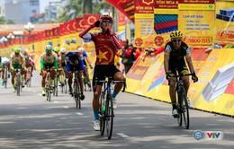 Chặng 7 Giải xe đạp quốc tế VTV - Cúp Tôn Hoa Sen 2016: Huỳnh Thanh Tùng (QK 7) về nhất chặng