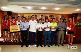 VTV Cup 2016 – Tôn Hoa Sen: ĐT Việt Nam nhận nguồn động viên lớn trước trận bán kết