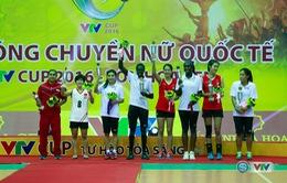 Các danh hiệu tại giải bóng chuyền nữ quốc tế VTV Cup 2016 – Tôn Hoa Sen