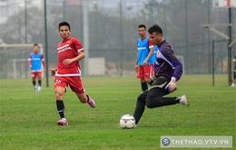 ĐT Việt Nam tập nhiệt tình trước ngày chốt danh sách 23 cầu thủ