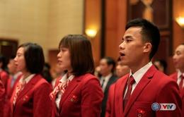 Chùm ảnh: Lễ xuất quân Đoàn Thể thao Việt Nam tham dự Thế vận hội Olympic Rio 2016