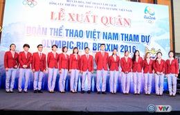 VIDEO: Lễ xuất quân Đoàn Thể thao Việt Nam tham dự Thế vận hội Olympic Rio 2016