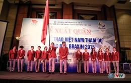 Lễ xuất quân Đoàn Thể thao Việt Nam tham dự Thế vận hội Olympic Rio 2016