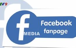 Báo chí cần quản lý chặt trang Fanpage Facebook