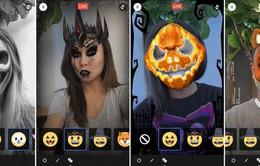 Ở nhà lướt Facebook, chơi Halloween với tính năng Masks