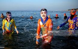 Facekini - Kiểu đồ bơi phổ biến tại Trung Quốc