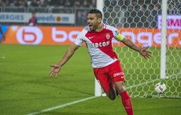 Falcao lập hattrick, đưa Monaco lên đỉnh Ligue 1