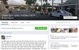 Cảnh sát giao thông Đà Nẵng lập Facebook tiếp nhận phản ánh của người dân