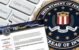 Tình báo Mỹ lo ngại tin tặc tấn công hệ thống bầu cử