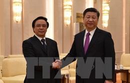 Lãnh đạo Trung Quốc tiếp đặc phái viên của Tổng Bí thư Nguyễn Phú Trọng