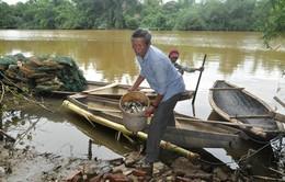 Nỗi bất an của người dân sống dọc sông Sa Lung