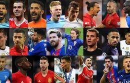 """FIFA công bố 23 đề cử cho danh hiệu """"Nam cầu thủ xuất sắc nhất thế giới 2016"""""""