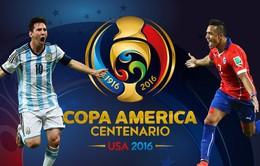 Lịch tường thuật trực tiếp trận tranh giải Ba và chung kết Copa America 2016