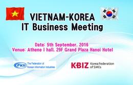 Doanh nghiệp Hàn Quốc tìm kiếm cơ hội giao thương, hợp tác tại Việt Nam