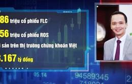 Chủ tịch Tập đoàn FLC trở thành người giàu nhất TTCK Việt Nam