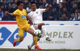 Lịch trực tiếp bóng đá V.League 2016 vòng cuối: Tâm điểm Hà Nội T&T - FLC Thanh Hóa