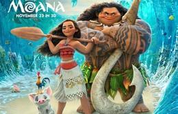 """Phim hoạt hình Disney """"Moana"""" tấn công phòng vé cuối năm"""