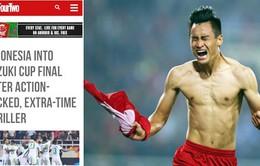 Báo chí quốc tế nể phục tinh thần thi đấu của ĐT Việt Nam trước Indonesia