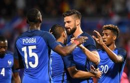 EURO 2016: ĐT Pháp và bài toán đảm bảo thể lực cho các cầu thủ