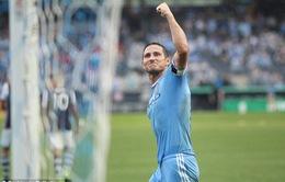Lập hat-trick, Lampard đi vào lịch sử New York City
