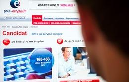 Tỷ lệ thất nghiệp tại Pháp giảm