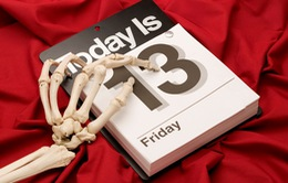 6 thực tế quái đản về thứ 6 ngày 13