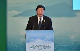 Khai mạc Hội nghị Bộ trưởng Tài chính G20