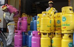 Giá gas tại TP.HCM tăng 5.000 đồng/bình từ 1/5