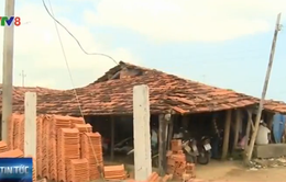 Phú Yên: Hết thời hạn, hàng trăm cơ sở sản xuất gạch thủ công vẫn hoạt động