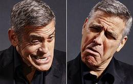 Khi George Clooney làm mặt nhí nhố