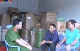 Thu giữ 40kg hóa chất tẩy trắng gạo làm mì tại Bắc Giang