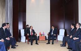 Thủ tướng hội kiến Thủ tướng Lào