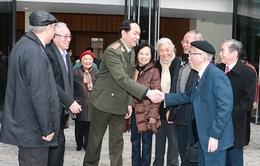 Bộ trưởng Trần Đại Quang gặp mặt tướng lĩnh Công an qua các thời kỳ