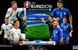 Tứ kết EURO 2016, Đức – Italy: Xoay ngược bánh xe lịch sử! (2h00 ngày 3/7 trên VTV3 & VTV3HD)