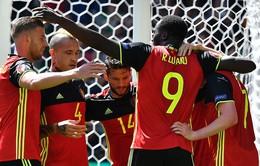 EURO 2016, Bỉ 3-0 CH Ireland: LUKAKU lập cú đúp, Bỉ thắng ấn tượng