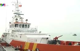 Cứu nạn thành công 20 thuyền viên trên tàu hàng bị chìm