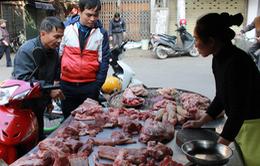 Giá thực phẩm tăng nhẹ ngày đầu năm