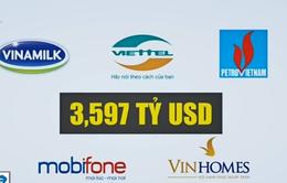 Công bố danh sách Top 50 thương hiệu giá trị nhất Việt Nam năm 2016