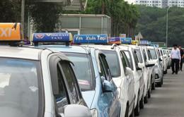 Giá xăng giảm, doanh nghiệp taxi buộc phải giảm giá cước