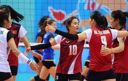 Lịch thi đấu Cúp bóng chuyền nữ châu Á 2016 tại Vĩnh Phúc