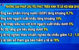 Nghị quyết phát triển kinh tế, xã hội năm 2016