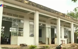 Gia Lai: Học sinh phải đi học xa vì cơ sở vật chất kém an toàn