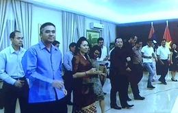 Đại sứ quán Việt Nam và Lào tại Malaysia tổ chức giao lưu hữu nghị