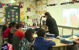 Cận cảnh môi trường dạy học linh hoạt ở Mỹ
