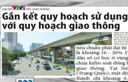 Báo động đỏ tình trạng giao thông ở Hà Nội