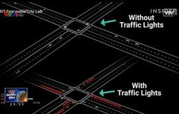 Giao lộ thông minh của tương lai xóa bỏ đèn giao thông